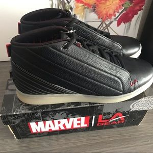 *L.A. Gear Marvel Black Panther Sneakers Size 9